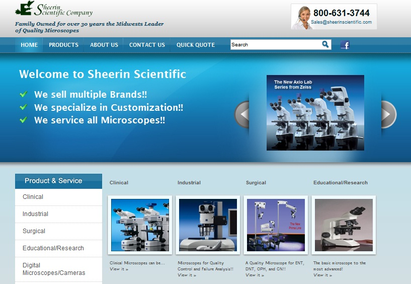 Sheerin Homepage
