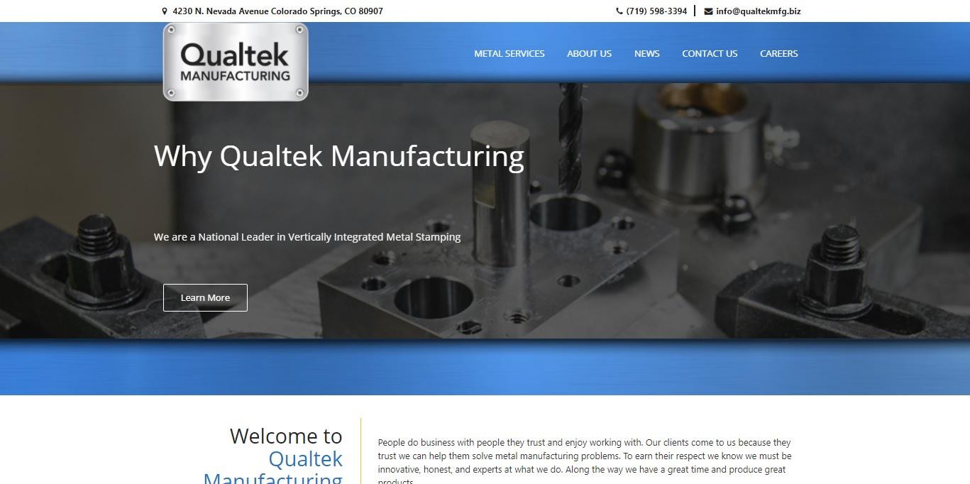 Qualtek Manufacturing Industrial Manufacturer
